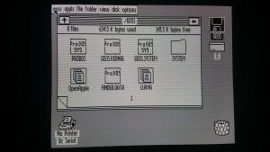 Apple IIc VGA DHGR Monochrome Output